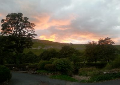Pennycroft Guest House Sunset